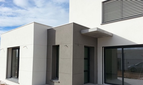 Ashlar Cut Coloured Render